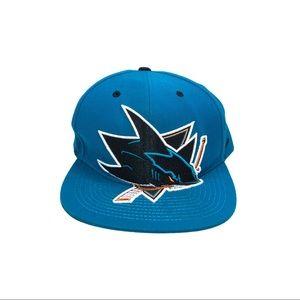 San Jose sharks zephyr 3D emblem hat